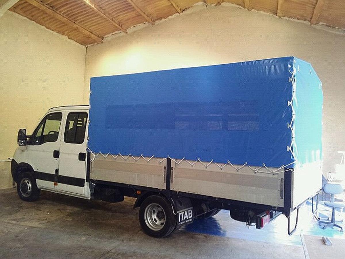 Lonas para camiones aire del mediterr neo for Toldos para camiones