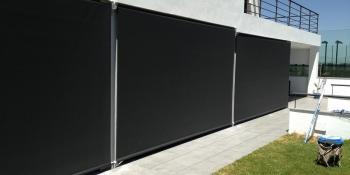 Screen exterior