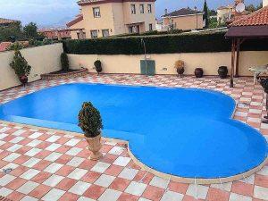 Cubiertas de piscina Granada - Toldos Aire