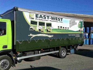 Lonas para camión Granada - Toldos Aire